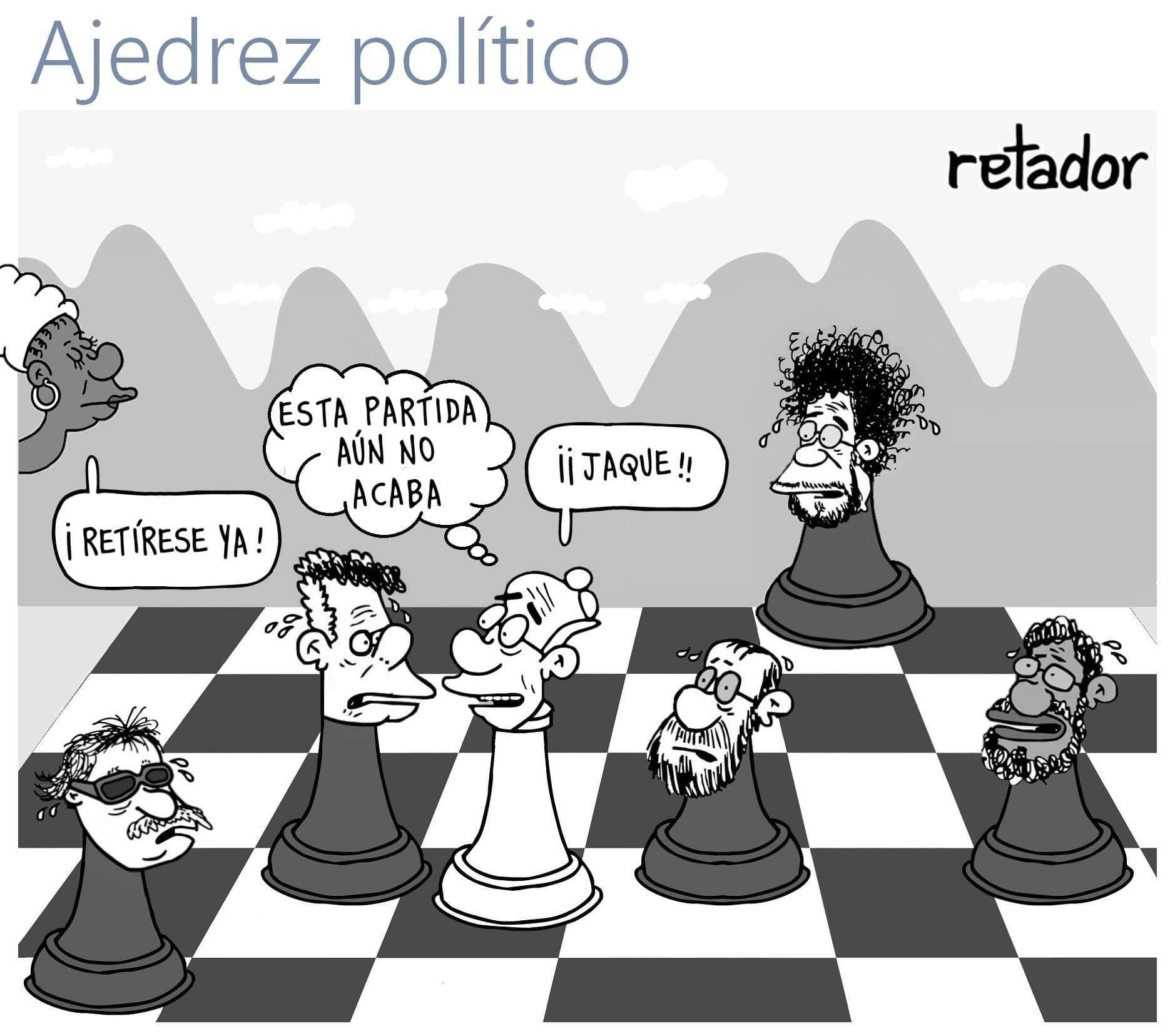 ajedrez politico