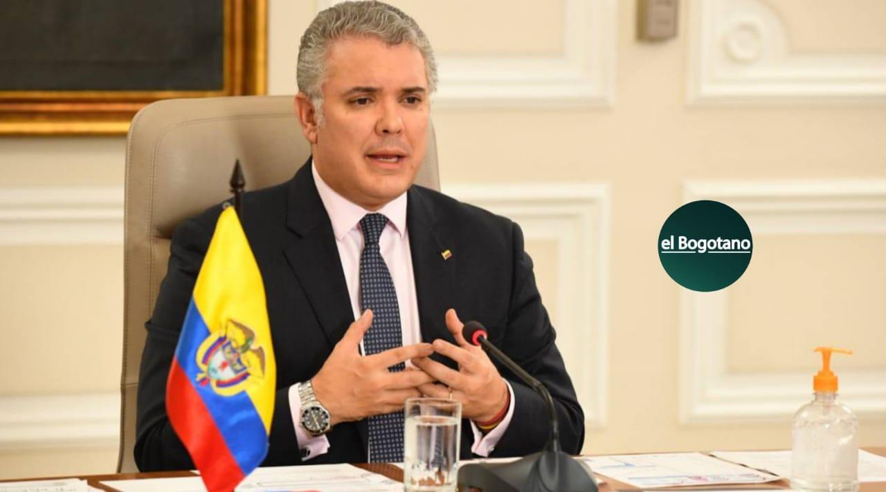 Iván Duque Vacuna